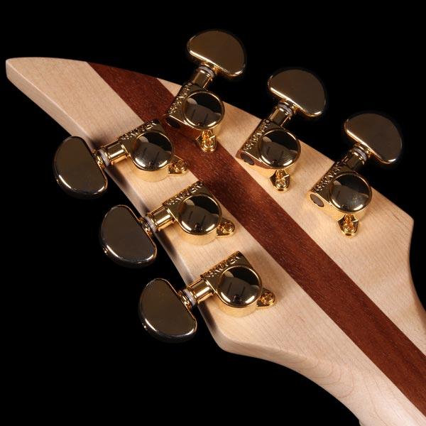 kingdom soord electric guitar headstock
